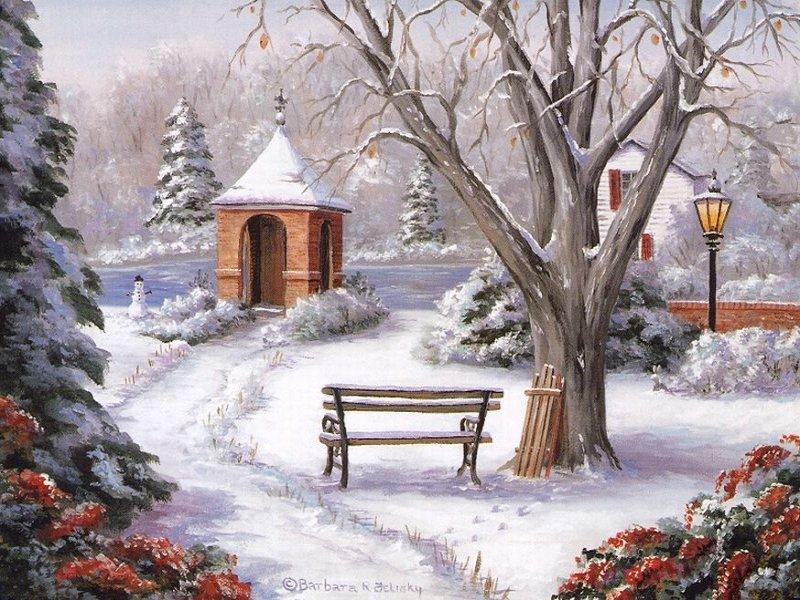 Fond d ecran noel page 2 for Fond ecran gratuit hiver