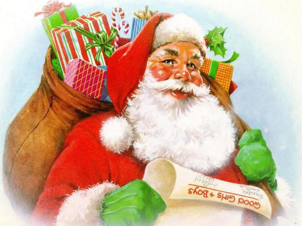 Большие открытки новогодние